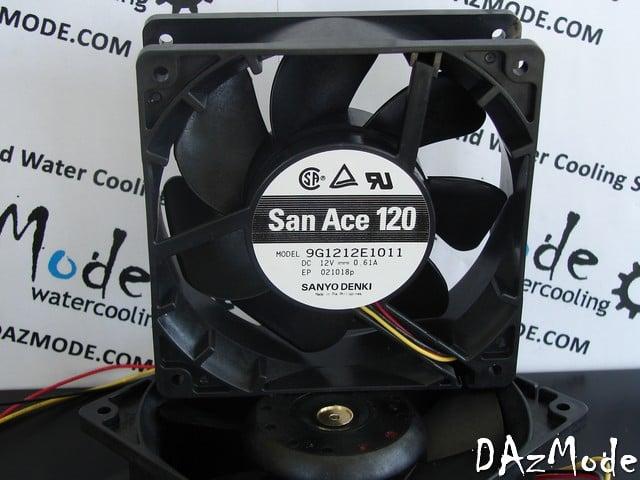 San Ace Ultra Performance Fan 120x38mm 118CFM 46dB