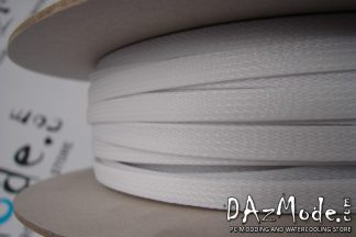 """3/8"""" (9mm) DarkSide High Density Cable Sleeving -White 1Ft"""