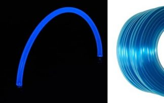 "Feser Tube UV Hose - 3/8"" ID - 1/2"" OD - SKY BLUE/UV Blue  (1')"