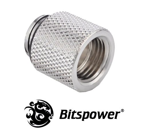 15mm Spacer Adapter Male/Female - Silver
