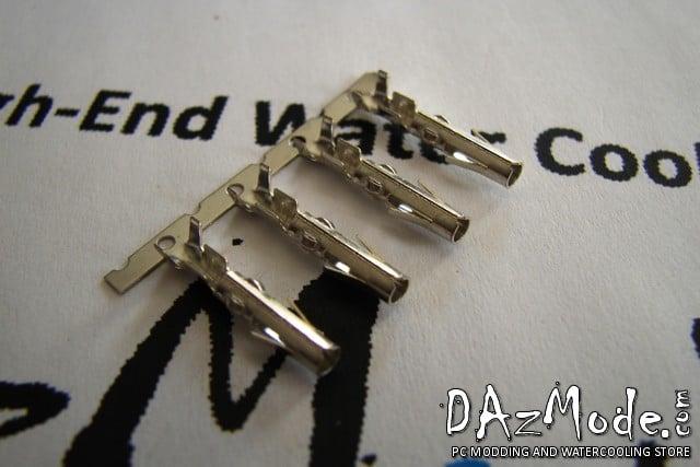 4-PIN CONNECTOR MOLEX FEMALE CRIMP PIN (Pack of 4)