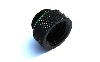 8mm Spacer Extender Adapter  - G1/4 Male/Female - Matt Black