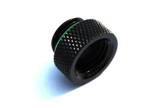 8mm Spacer Extender Adapter  - G1/4 Male/Female - Matt Black