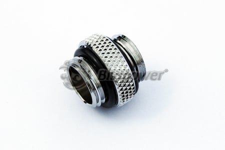 5mm Spacer Extender Adapter - G1/4 Male/Male - Silver