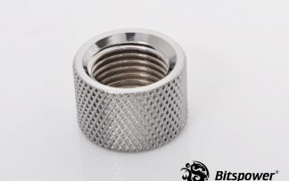 8mm Spacer Extender Adapter  - G1/4 Female/Female - Silver