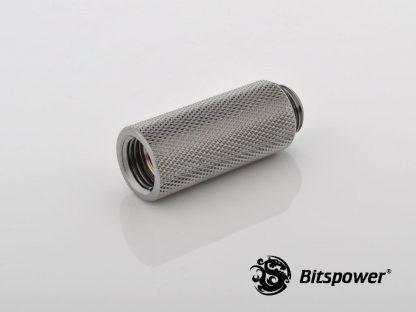 40mm  Spacer Adapter Male/Female  - Black Nickel