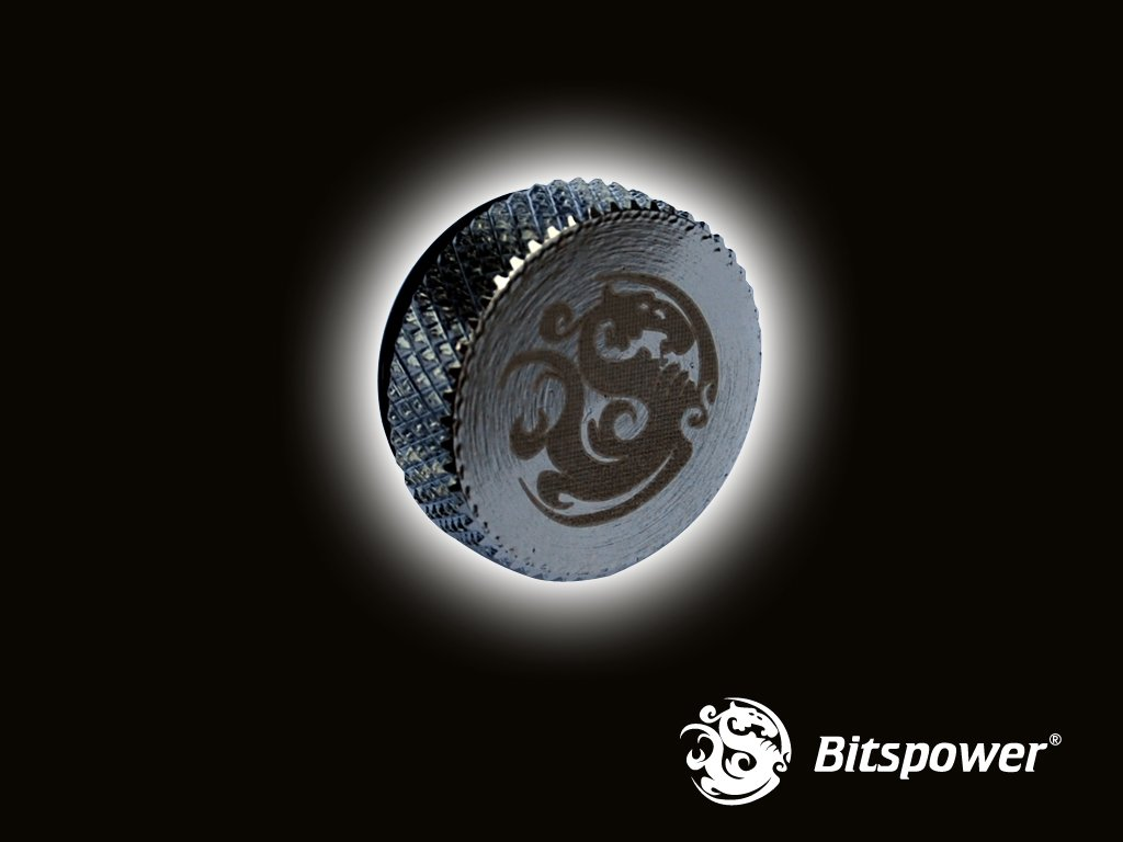 "Stop Plug Fitting - G1/4"" Silver BP-WTP-C06"