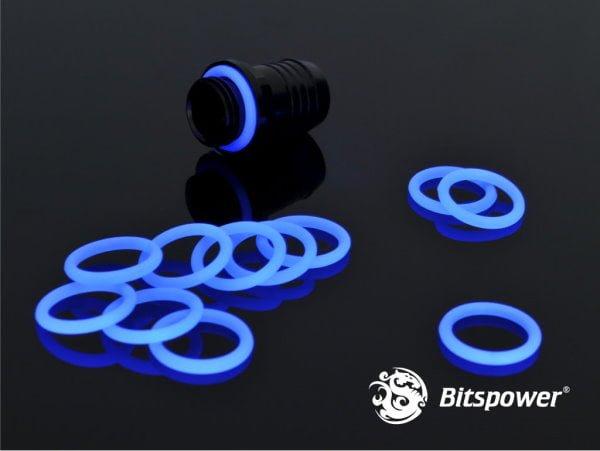 Bitspower UV Reactive Blue O-Ring (pack of 10)