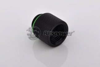 15mm Spacer Adapter Male/Female - Matte Black