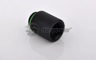 20mm Spacer Adapter Male/Female - Matte Black