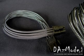 "8-Pin PCI-E XL19"" (50cm)  DarkSide Single Braid Cable - Graphite Metallic"