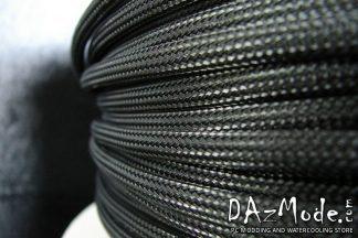 """3/8"""" (9mm) DarkSide High Density Cable Sleeving - Jet Black 1Ft"""