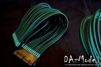"24-Pin ATX 12"" (30cm) DarkSide Single Braid Cable - Military"