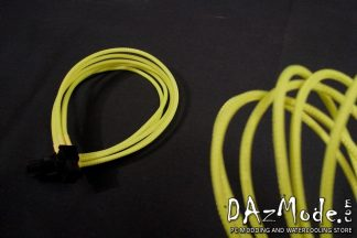 6-Pin PCI-E DarkSide Single Braid Cable - Acid Yellow