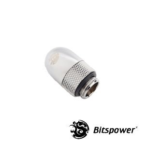 60 Degree Rotary Adapter M/F G1/4 Silver BP-60R