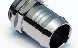 "1/2"" ID Tubing - Barb - Black Sparkle BP-BSWP-C01"