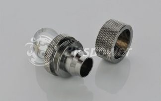 "1/2""ID - 3/4""OD Rotary 45 Deg. Angled Compression Fitting BSpark"