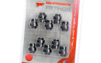 """1/2""""ID Tubing - High Performance Barb BLACK  (Value Pack of 10)"""