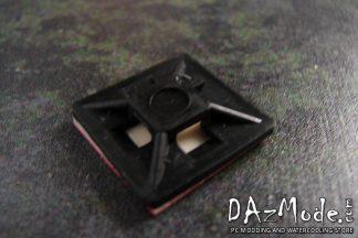 """3/4"""" Zip Tie Mount - Black"""