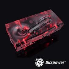 Bitspower Dual D5 Pump Serial Top (Acrylic Version)