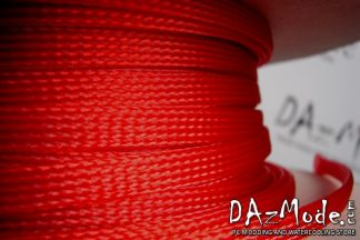 """3/8"""" (9mm) DarkSide High Density Cable Sleeving -Red UV 1Ft"""