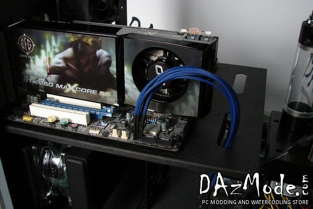 DARKSIDE Front Panel I/O connection kit - Dark Blue UV