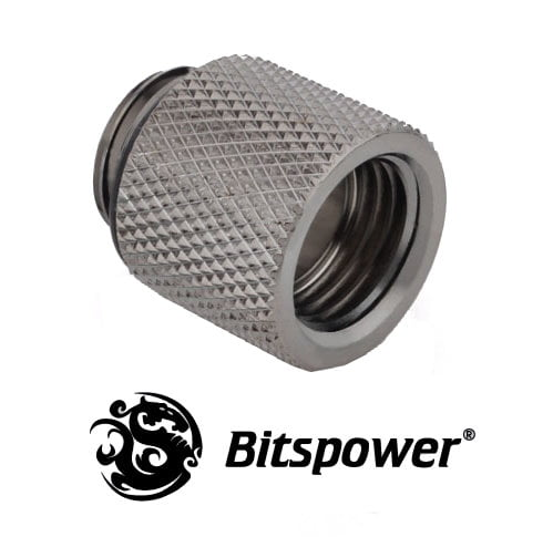 15mm Spacer Adapter Male/Female - Black Sparkle C60