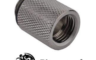 20mm Spacer Adapter Male/Female - Black Sparkle C61