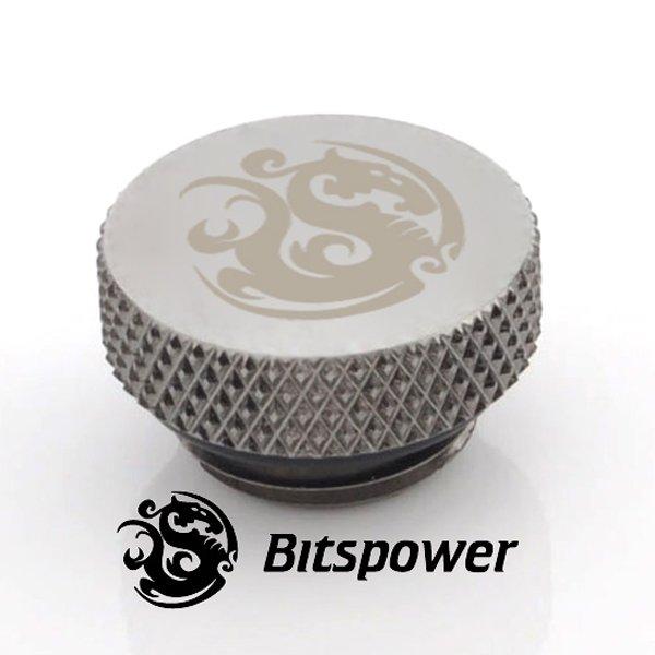 "Stop Plug Fitting - G1/4"" Black Sparkle C06"