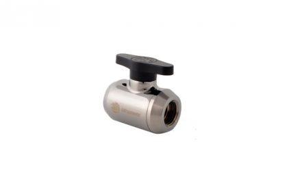 Ball Shutoff Mini-Valve -  Black Sparkle