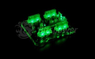 Bitspower X-Station Mini Power-Extension I Female Version GRN