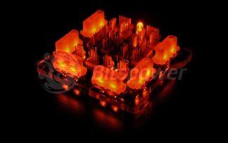Bitspower X-Station Mini Power-Extension II Female Version - Orange