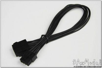 "8-pin PCI-E modding ready M/F 12"" extension cable"