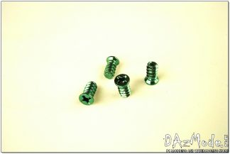 Fan Screw - Green (Set of 4)
