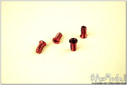 Fan Screw - Red (Set of 4)