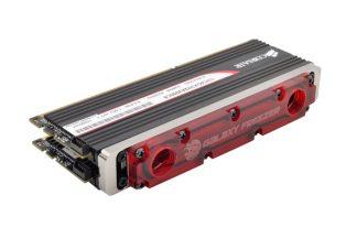 Bitspower Galaxy Freezer DIMM2 DOMINATOR RAM  WaterBlock - Red