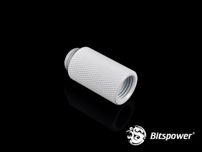30mm  Spacer Adapter Male/Female  - White-2