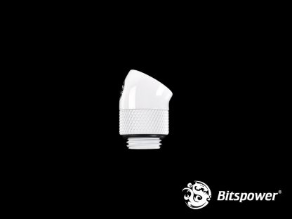 30 Degree Rotary Adapter M/F G1/4 White