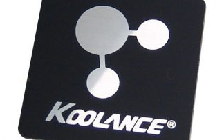 Koolance computer case decal sticker