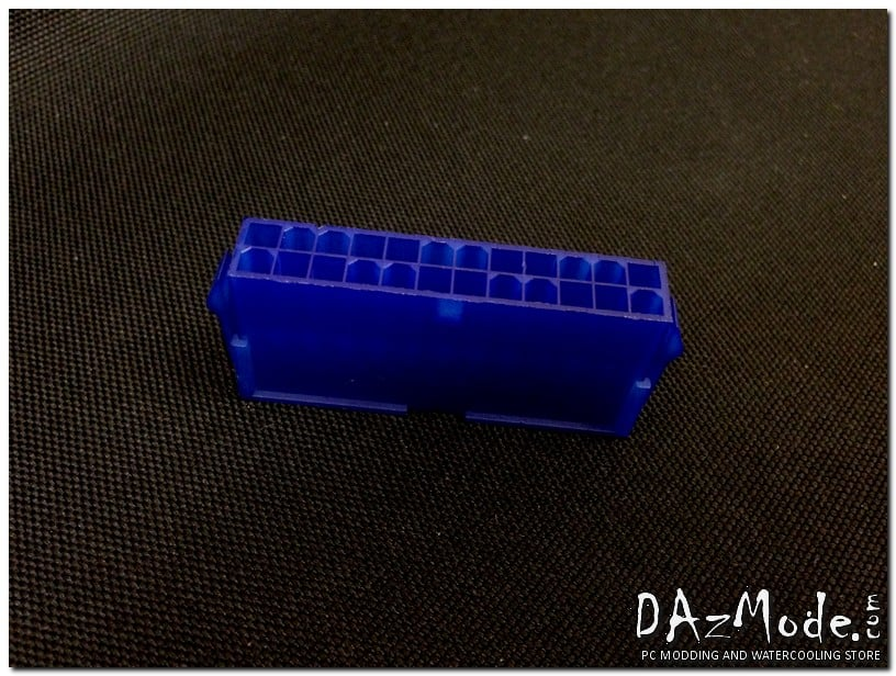 24-Pin ATX Male Power Connector - Blue
