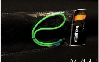 3-Pin 40cm Fan DarkSide Single Braid Cable - Green