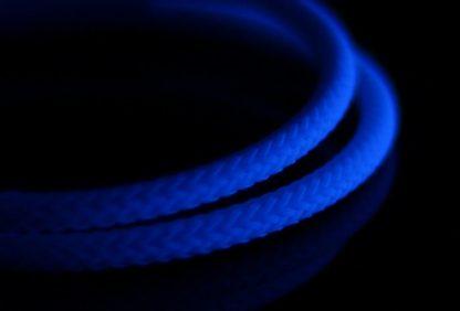 "5/32"" (4mm) DarkSide HD Cable Sleeving - Dark Blue UV"