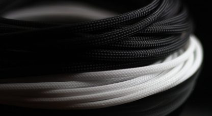 "5/32"" (4mm) DarkSide HD Cable Sleeving - Jet Black"