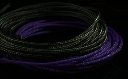 "5/32"" (4mm) DarkSide HD Cable Sleeving - Jet Black-2"