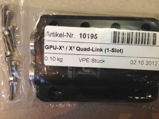 Watercool HeatkillerGPU-X² / X³ Quad-Link (1-Slot)