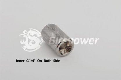 "Dual IG1/4"" F/F Extender-30MM - Black Sparkle-3"
