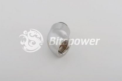 60 Degree Rotary Adapter M/F G1/4 Silver BP-60R-4