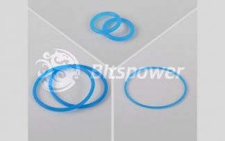 O-Ring Kit For Bitspower Dual D5 MOD TOP (UV Blue)