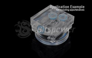 O-Ring Kit For Bitspower D5 MOD TOP (UV Blue)