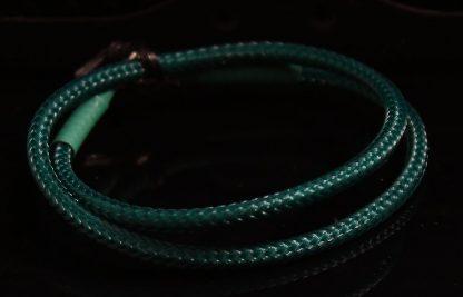 4-pin MOLEX  DarkSide Single Braid Cable - Military Green